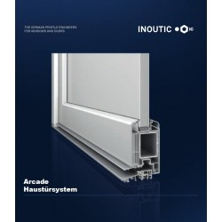 PVC Haustür Model 1022 / Inoutic Arcade 71mm Bautiefe